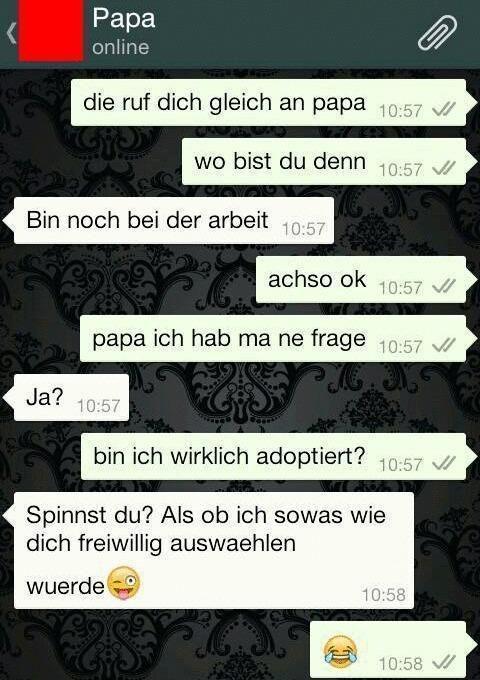 Whatsapp und die Adoptierte