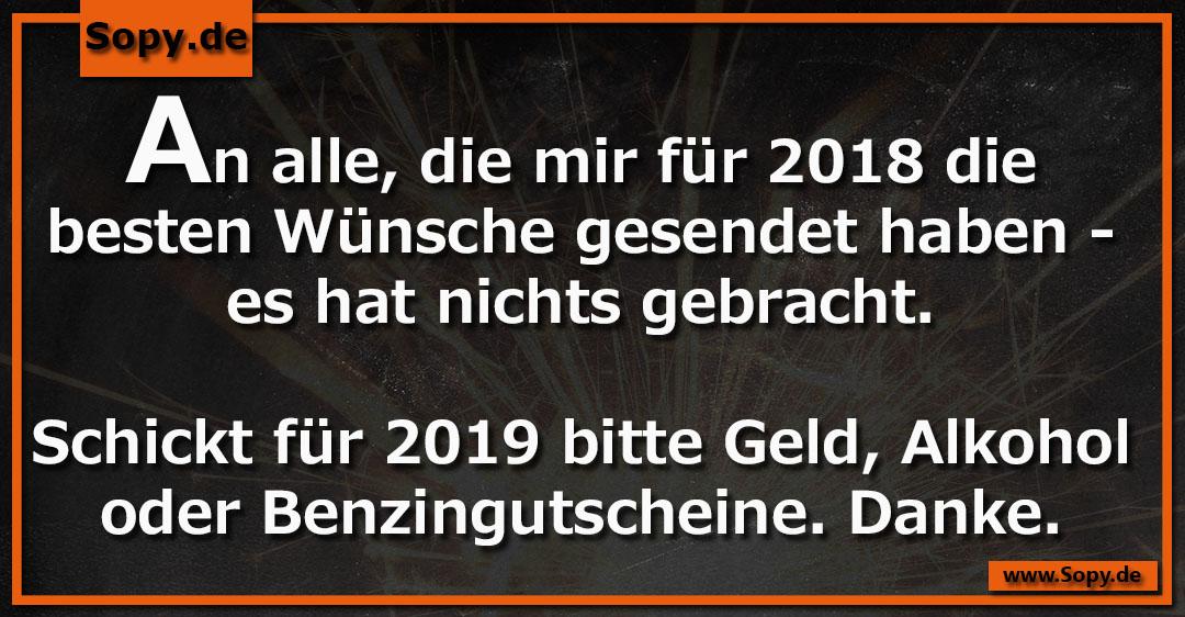Besten wunsche fur 2019