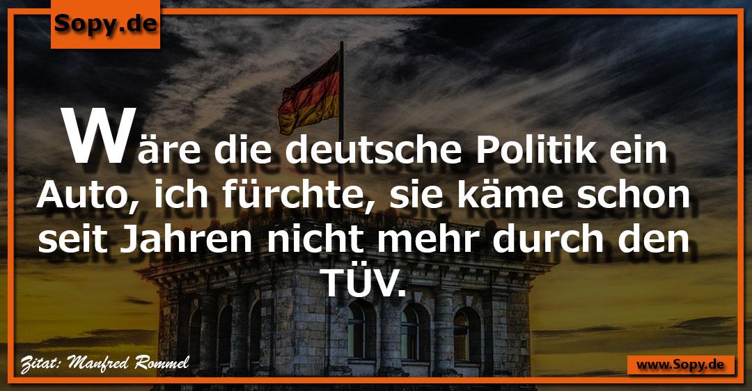 Die deutsche Politik