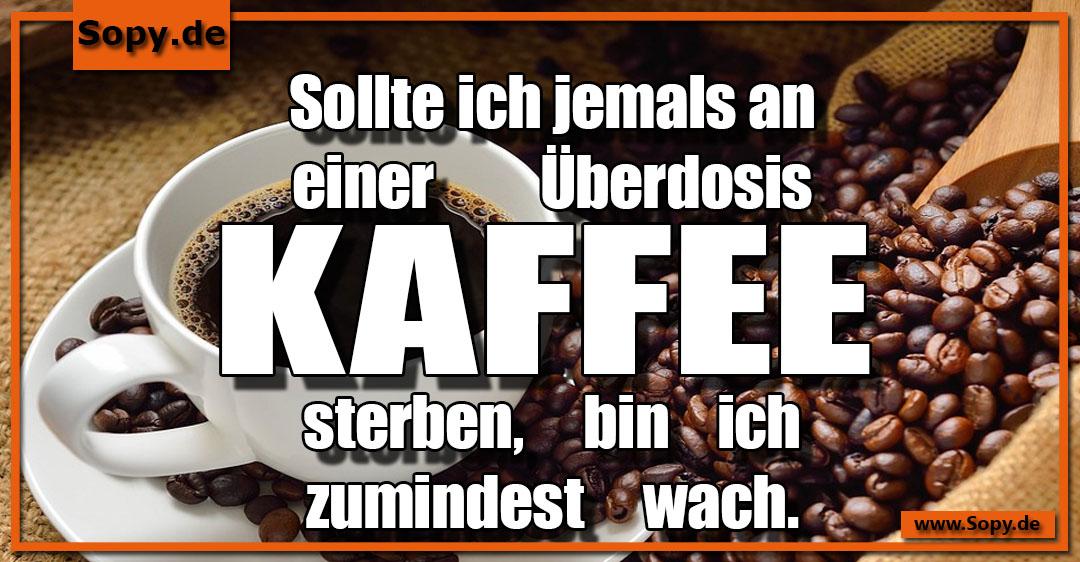 Überdosis Kaffee