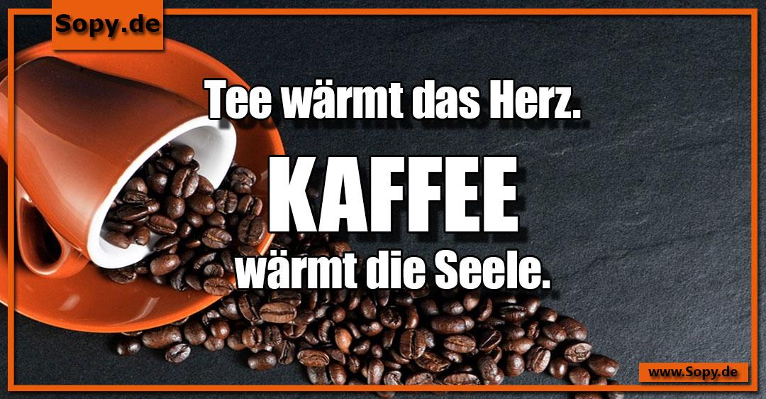 Kaffee wärmt die Seele