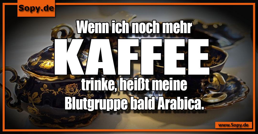 mehr Kaffee