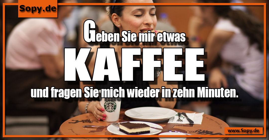 etwas Kaffee
