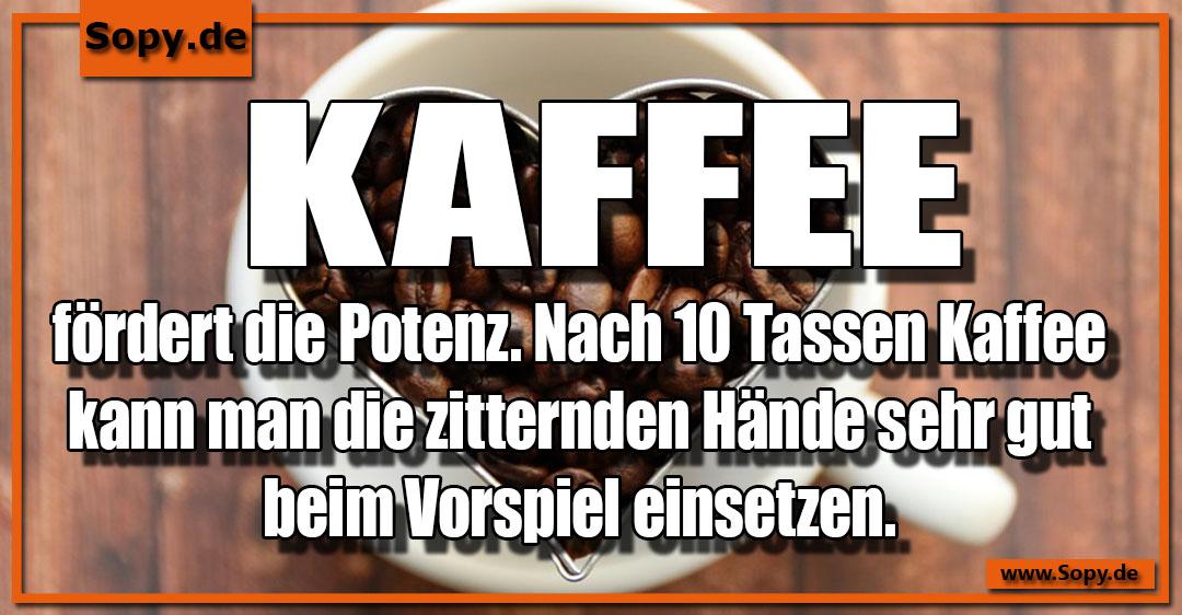 Kaffee fördert