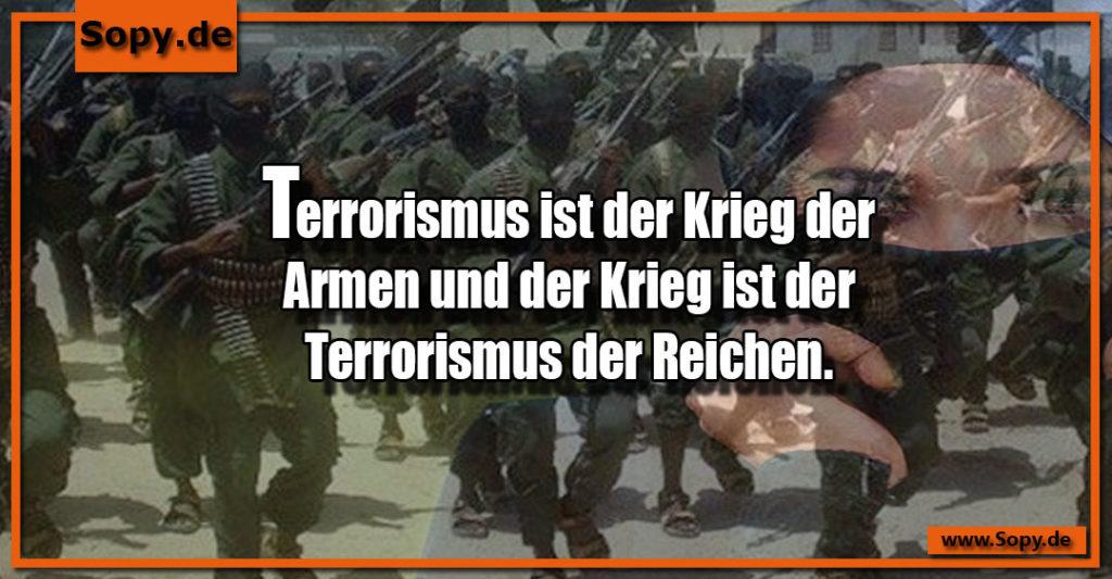 Terrorismus ist der Krieg