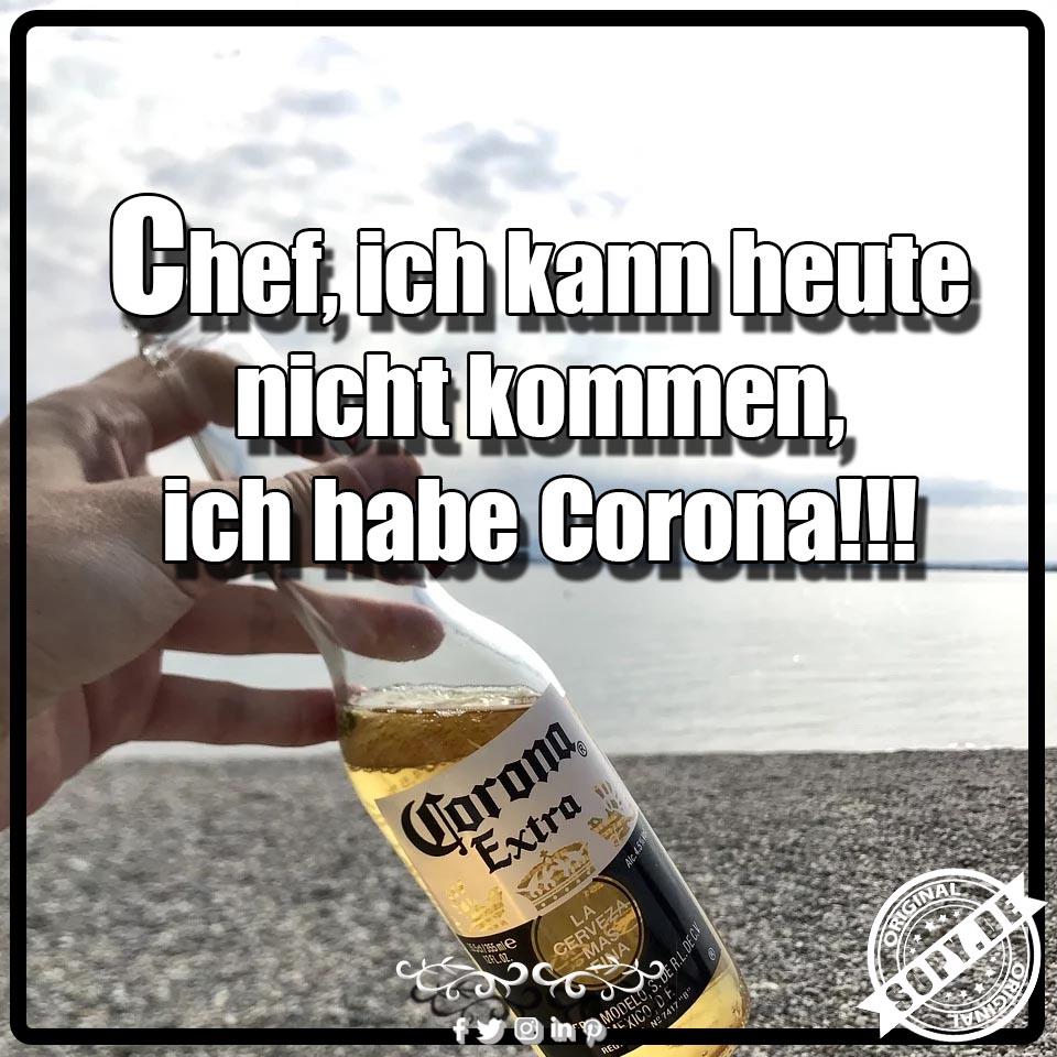 ich habe Corona