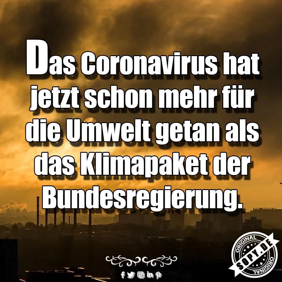 Coronavirus Bundesregierung