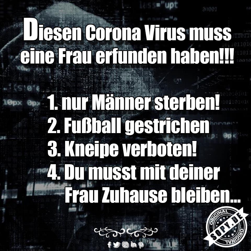 Corona Virus erfunden