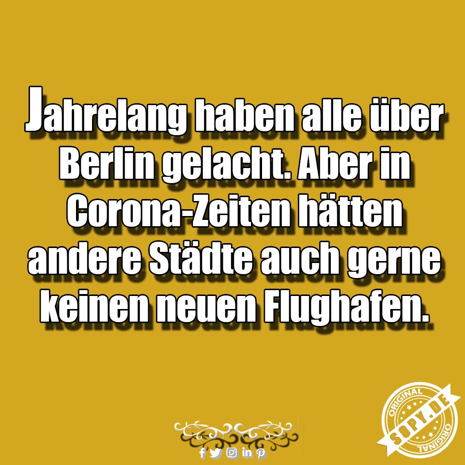 Corona Flughafen BER