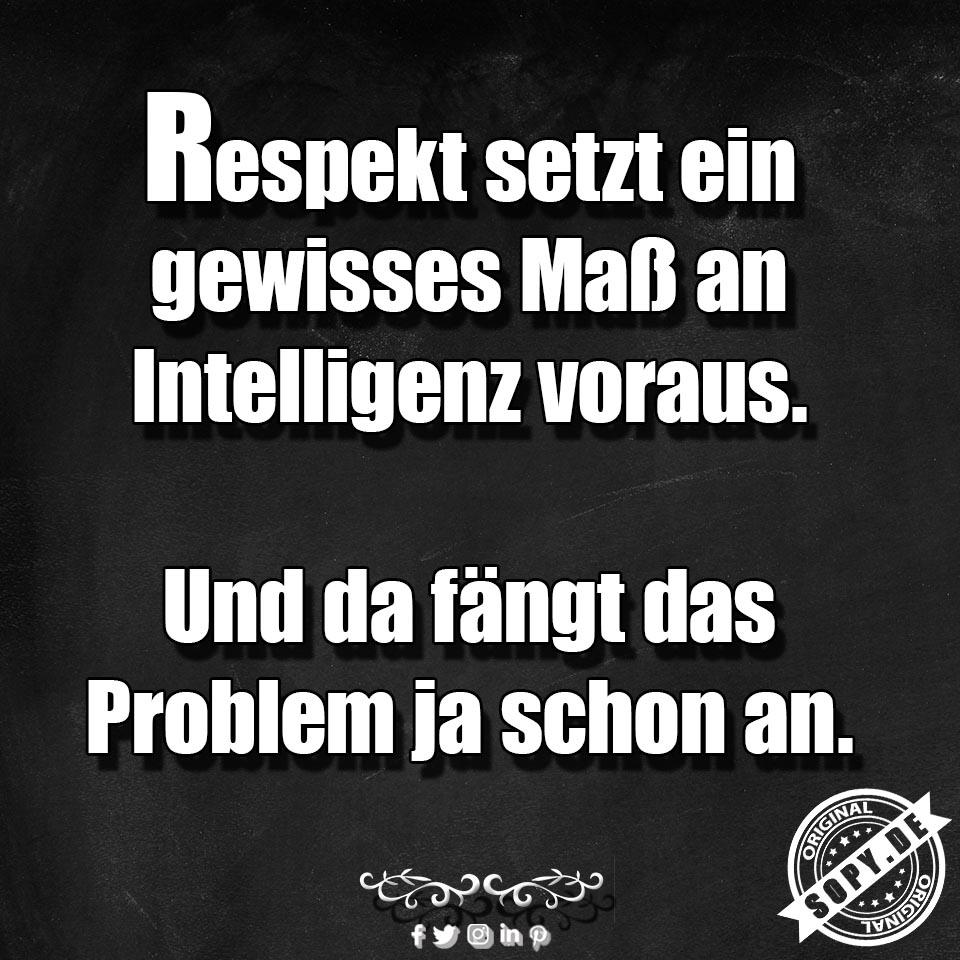 Respekt und das Problem