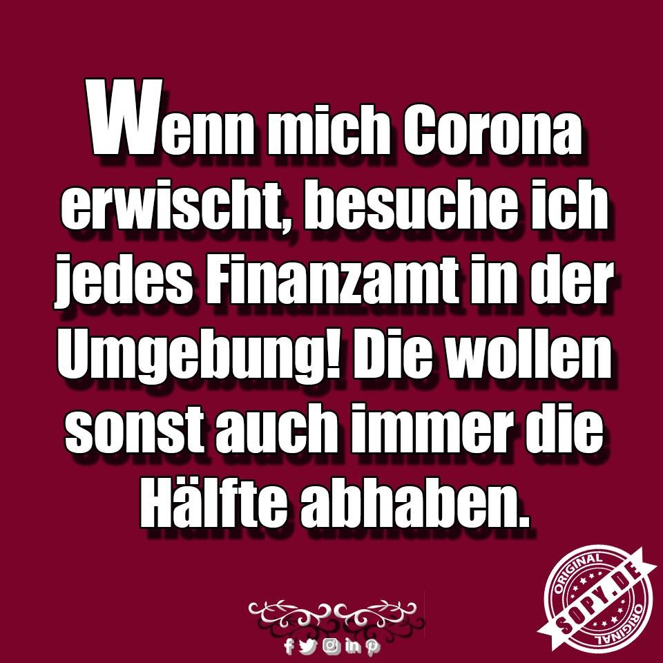 Corona erwischt