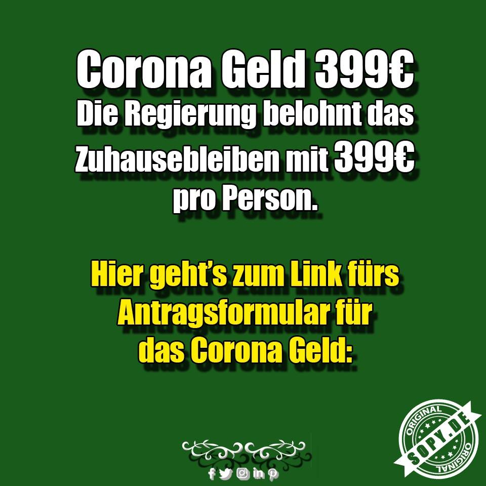 Corona Geld 399€